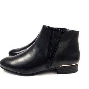Zara Collection Vegan Faux Leather Ankle Boots